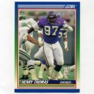 1990 Score Football #435 Henry Thomas - Minnesota Vikings