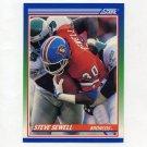 1990 Score Football #417 Steve Sewell - Denver Broncos