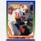 1990 Score Football #411 Broderick Thomas - Tampa Bay Buccaneers