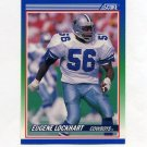 1990 Score Football #402 Eugene Lockhart - Dallas Cowboys