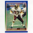 1990 Score Football #389 Ricky Sanders - Washington Redskins