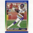 1990 Score Football #345 Anthony Carter - Minnesota Vikings