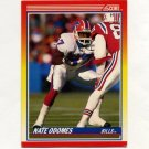 1990 Score Football #254 Nate Odomes RC - Buffalo Bills