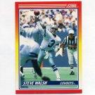 1990 Score Football #231 Steve Walsh - Dallas Cowboys
