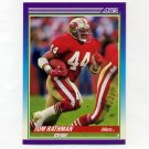 1990 Score Football #188 Tom Rathman - San Francisco 49ers