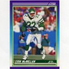 1990 Score Football #117 Erik McMillan - New York Jets
