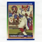1990 Score Football #110 Thurman Thomas - Buffalo Bills