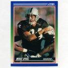 1990 Score Football #086 Mike Dyal RC - Los Angeles Raiders