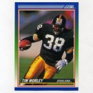 1990 Score Football #067 Tim Worley - Pittsburgh Steelers