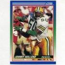 1990 Score Football #048 Johnny Holland - Green Bay Packers