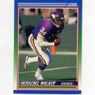 1990 Score Football #034 Herschel Walker - Minnesota Vikings