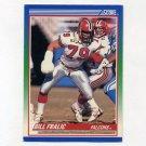 1990 Score Football #007 Bill Fralic - Atlanta Falcons