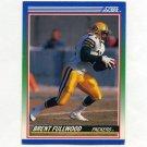 1990 Score Football #006 Brent Fullwood - Green Bay Packers