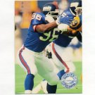 1991 Pro Set Platinum Football #299 Kanavis McGhee RC - New York Giants
