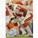 1991 Pro Set Platinum Football #278 Paul Gruber - Tampa Bay Buccaneers