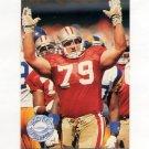 1991 Pro Set Platinum Football #267 Harris Barton - San Francisco 49ers