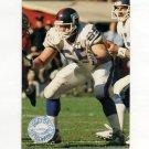 1991 Pro Set Platinum Football #242 Bart Oates - New York Giants