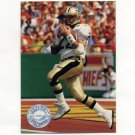 1991 Pro Set Platinum Football #235 Gill Fenerty - New Orleans Saints