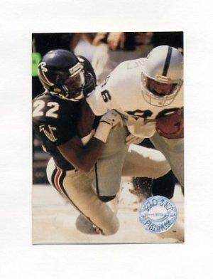 1991 Pro Set Platinum Football #155 Tim McKyer - Atlanta Falcons