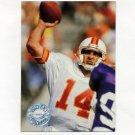 1991 Pro Set Platinum Football #116 Vinny Testaverde - Tampa Bay Buccaneers