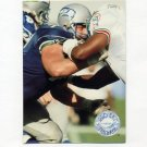 1991 Pro Set Platinum Football #113 Bryan Millard - Seattle Seahawks