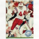 1991 Pro Set Platinum Football #072 John Stephens - New England Patriots
