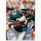 1991 Pro Set Platinum Football #063 Sammie Smith - Miami Dolphins