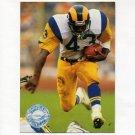 1991 Pro Set Platinum Football #059 Cleveland Gary - Los Angeles Rams