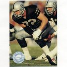 1991 Pro Set Platinum Football #053 Don Mosebar - Los Angeles Raiders
