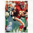 1991 Pro Set Platinum Football #049 Christian Okoye - Kansas City Chiefs