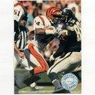 1991 Pro Set Platinum Football #019 Lewis Billups - Cincinnati Bengals
