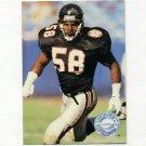 1991 Pro Set Platinum Football #004 Jessie Tuggle - Atlanta Falcons