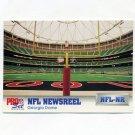 1992 Pro Set Football #698 Georgia Dome NEWS