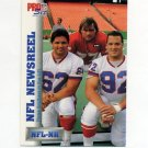1992 Pro Set Football #696 3 Brothers in NFL NEWS