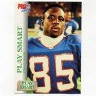 1992 Pro Set Football #694 Play Smart