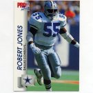 1992 Pro Set Football #477 Robert Jones RC - Dallas Cowboys