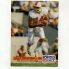 1992 Pro Set Football #339 Vinny Testaverde - Tampa Bay Buccaneers