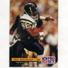 1992 Pro Set Football #307 Eric Bieniemy - San Diego Chargers