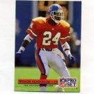 1992 Pro Set Football #157 Wymon Henderson - Denver Broncos