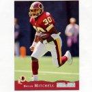 1993 Pro Set Football #446 Brian Mitchell - Washington Redskins