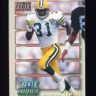 1993 Power Update Football Prospects Gold #38 George Teague - Green Bay Packers