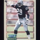 1993 Power Update Football Prospects #37 Patrick Bates RC - Los Angeles Raiders