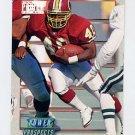 1993 Power Update Football Prospects #10 Reggie Brooks RC - Washington Redskins