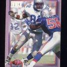1993 Power Update Moves Football #28 Ferrell Edmunds - Seattle Seahawks
