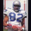 1993 Power Football Power Moves #PM28 Ferrell Edmunds - Seattle Seahawks
