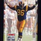 1993 Power Football #196 Mark Boutte - Los Angeles Rams