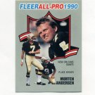 1990 Fleer Football All-Pros #23 Morten Andersen - New Orleans Saints