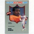 1990 Fleer Football All-Pros #21 Steve Atwater - Denver Broncos