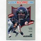 1990 Fleer Football All-Pros #10 Jay Hilgenberg - Chicago Bears