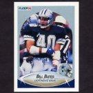 1990 Fleer Football #385 Bill Bates - Dallas Cowboys